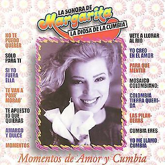 Margarita Y Su Sonora - Momentos De Amor Y Cumbia [CD] USA import