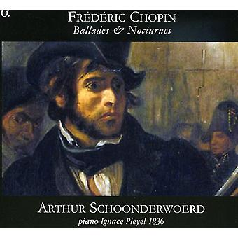 F. Chopin - Chopin: Balladen & Nocturnes [CD] USA import