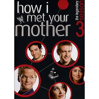 How I Met Your Mother: Season 3 [DVD] USA import