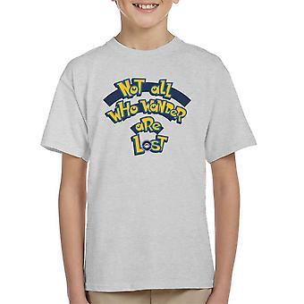 The Adventure Awaits Pokemon Kid's T-Shirt