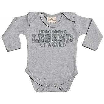 Spoilt Rotten Up & Coming Legend Organic Babygrow