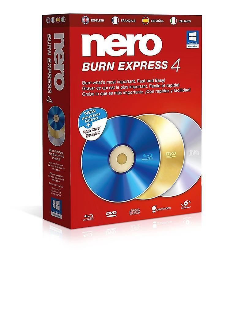 Nero Burn Express 4 PC