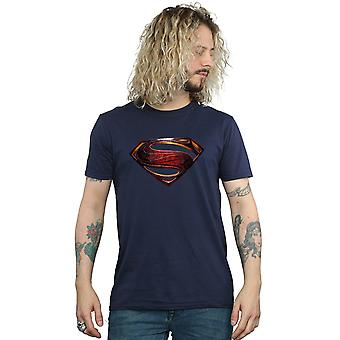 DC Comics Men's Justice League Movie Superman Emblem T-Shirt