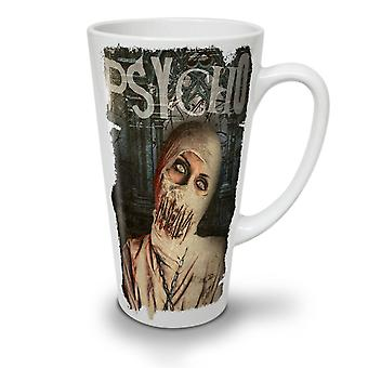Psycho Death Scary NEW White Tea Coffee Ceramic Latte Mug 12 oz | Wellcoda