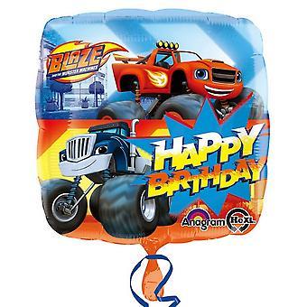 Anagramma Blaze & il mostro macchine buon compleanno palloncino