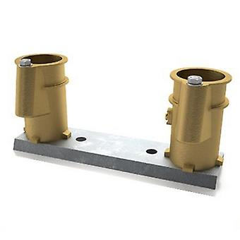 "PermaCast PC-4008-BC 4"" Pool Deck Anchor Socket canal PC-4008 -"