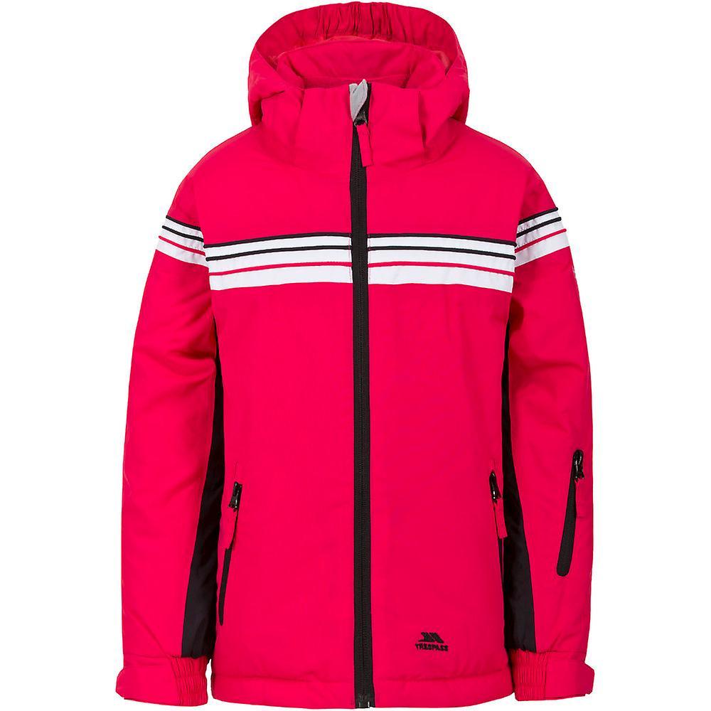Trespass Girls Priorwood Padded Waterproof Breathable Shell Ski Jacket