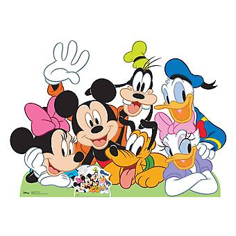 Mickey Mouse and Friends Lifesize Cardboard Cutout / Standee / Standup