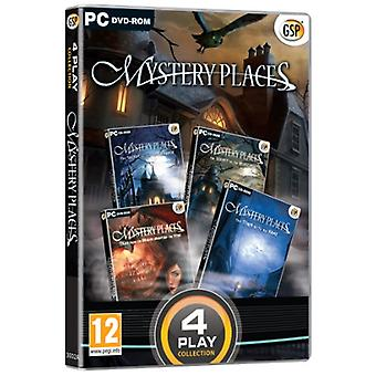 4 Play Collection - Mystery Places (PC DVD) - New