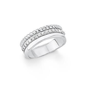 s.Oliver Jewel Damen Ring Silber Zirkonia SO1392