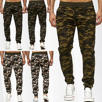 Men's Sweat Pants Tracksuit Trousers Sports Camouflage Print Fitness Army Jogger