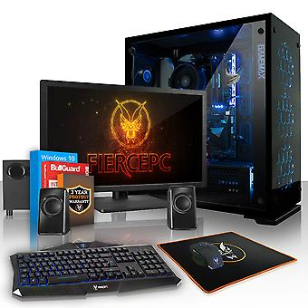 Heftige CHEETAH Gaming-PC, schnelle Intel Core i7 8700 K 4,5 GHz, 1 TB SSHD, 16 GB RAM, GTX 1060 6 GB