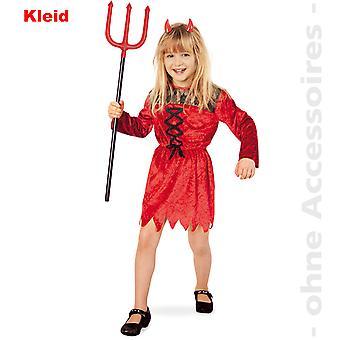 Satansbraten Kinder Devil Kostüm Teufelkleid Teufel Satan Kinderkostüm