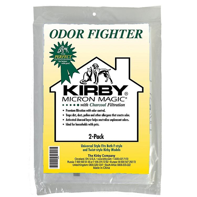 Kirby Vacuum Bags Carbon Odor Remover OEM # 202816