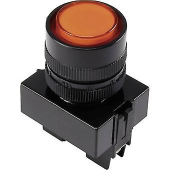 TRU COMPONENTS LED indicator light Orange 12 V DC Y090 E-DS/O/12V