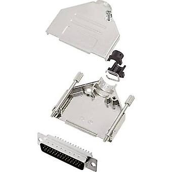 encitech DTCK25-HDP44-K 6355-0062-03 D-SUB PIN Strip set 180 ° antal stift: 44 Lödskopa 1 set