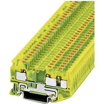 Phoenix Contact PT 4-TWIN-PE 3211780 Tripleport PG terminal Number of pins: 3 0.2 mm² 4 mm² Green, Yellow 1 pc(s)