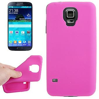 Protective cover silicone case for mobile Samsung Galaxy S5 / S5 neo pink