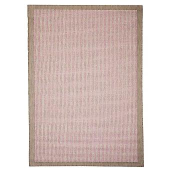 Outdoor carpet for Terrace / balcony of Essentials chrome pink 200 / 290 cm carpet indoor / outdoor - for indoors and outdoors