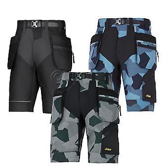 Snickers FlexiWork, pantalones cortos de trabajo con bolsillos funda - 6904