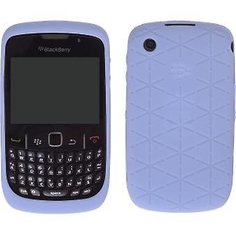 5 Paket -OEM BlackBerry Curve 8520, 8530, 9300, 9330 Curve 3G, Kabartmalı Cilt Kılıfı - Kandor Frost