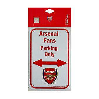 Arsenal FC Official No Parking Metal Sign