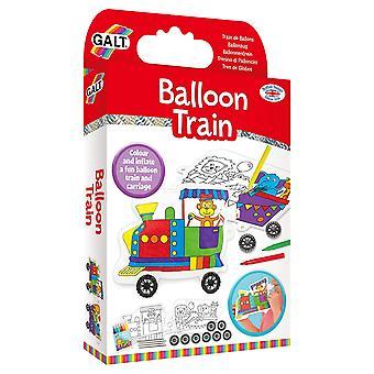 Galt ballong tåg, Craft Kit för barn