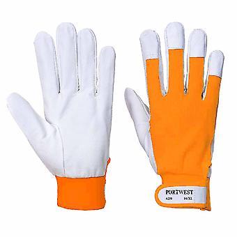 Suw - Tergsus Driver & Rigger Gloves (6 Pair Pack) - Orange - Small