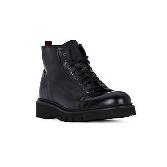 Exton anilin finishing black shoes