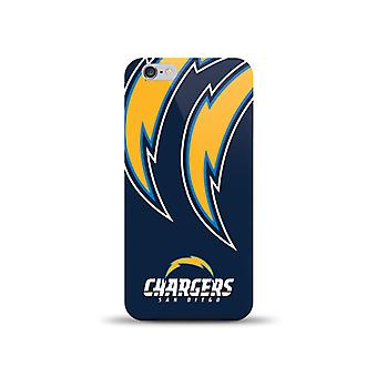 Mizco Sports NFL Oversized Snapback TPU Case for Apple iPhone 6 / 6S (San Diego Chargers)