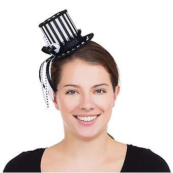 Harlekin stribet Mini høj Hat