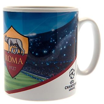 AS Roma Champions League Mug