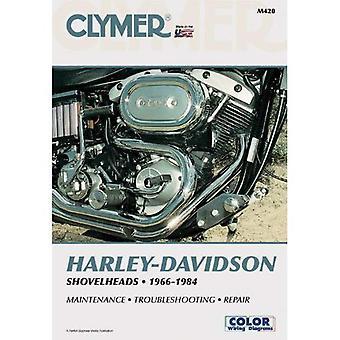 Harley-Davidson Shovelheads, 1966-1984: Clymer Workshop Manual