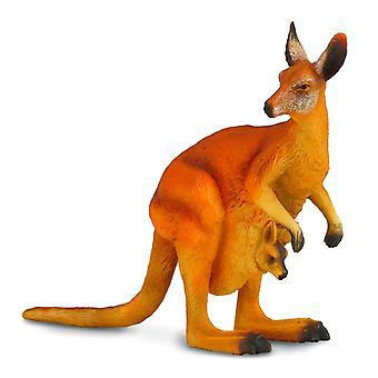 CollectA punainen Kangaroo