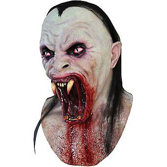Vipera in lattice maschera per Halloween
