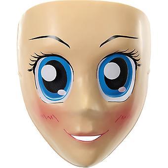 العيون الزرقاء أنمي القناع للكبار