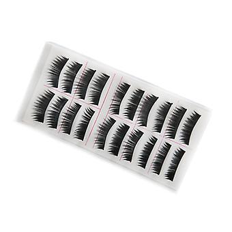 10 pairs thick false eyelashes fringe false eyelashes