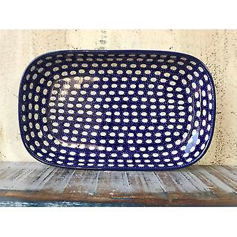 Bowl / plate, 26 x 16 x 3 cm, Trad. 4 - BSN 0603