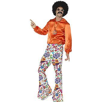 60er Jahre Schlaghose Männer Kostüm