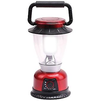 Infapower 6 LED Large Outdoor Lantern With On/Off Dimmer Switch - Red (F042)