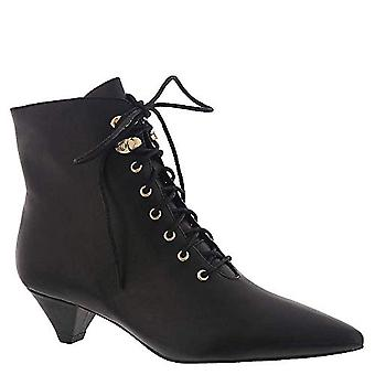 Silent D Womens Cammy Leather Pointed Toe Ankle Fashion Boots