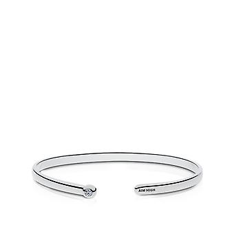 US Air Force Diamond Cuff Bracelet In Sterling Silver Design by BIXLER