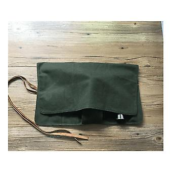 Canvas Bartender Roll Up Bag (without tools)