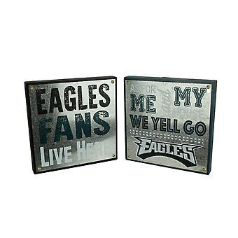 NFL Philadelphia Eagles Football Fan and Go Eagles Wall Hangings