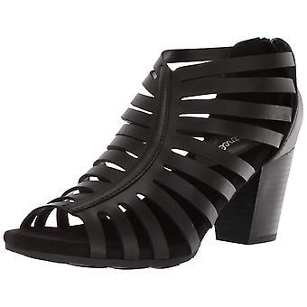Easy Street Womens Dreamer Open Toe Casual Mule Sandals