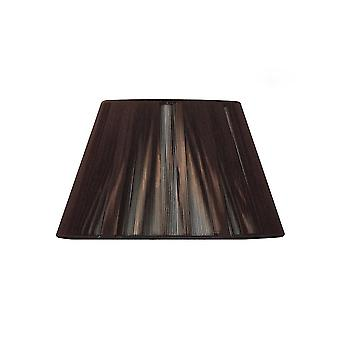 Mantra Silk String Shade Dark Brown 250/400mm X 250mm