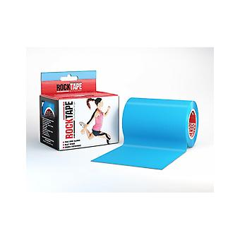 Rocktape Mini Big Daddy Rolls Adhesive Kinesiology Tape 10cm x 5m - Electric Blue