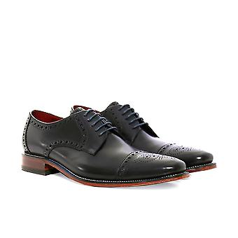 Loake Calf Leather Foley Derby Shoes