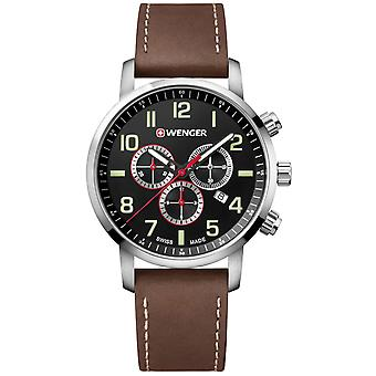 Attitude chrono Quartz Analog Man Watch with Cowhide Bracelet 01.1543.103