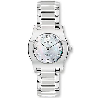 Mondia affinity Quartz Analog Women's Watch with Stainless Steel Bracelet 1-682-RD2